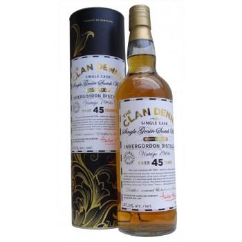 Invergordon 1966 45 Year Old Single Grain Whisky