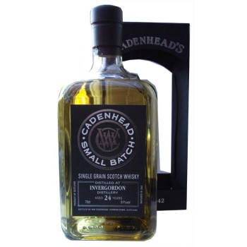 Invergordon 1991 24 Year Old Single Grain hisky