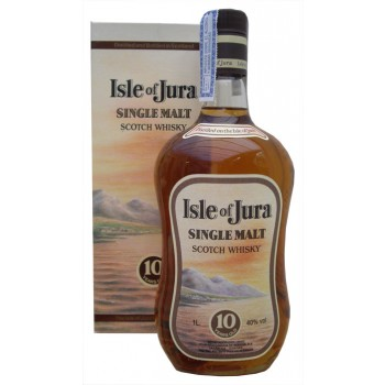 Jura 10 Year Old 1 Litre Old Label Single Malt Whisky