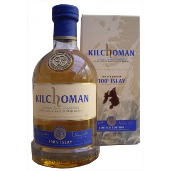 Kilchoman 100% Islay 5th Edition Single Malt Whisky