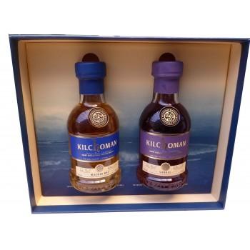 Kilchoman Sanaig and Machir Bay 20cl Gift Pack