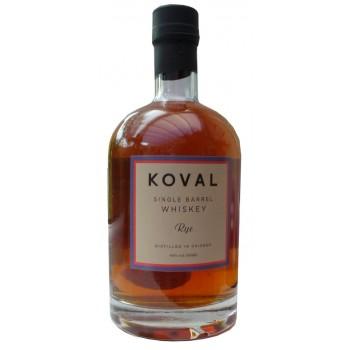 Koval Organic Single Barrel Rye Whiskey