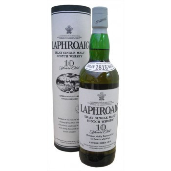 Laphroaig 10 Year Old Single Malt Whisky
