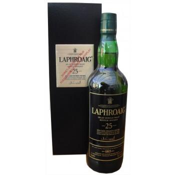Laphroaig 25 Year Old 2014 Release Cask Strength Edition Single Malt Whisky