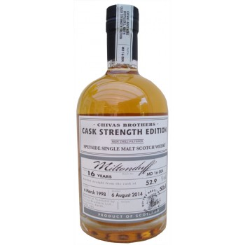 Miltonduff 1998 16 Year Old Cask Strength Single Malt Whisky