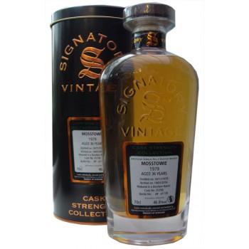 Mosstowie 1979 37 Year Old Single Malt Whisky