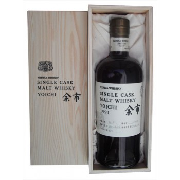 Nikka Yoichi 1991 Single Cask Malt Whisky