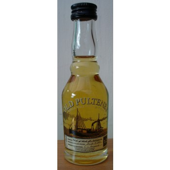 Old Pulteney 12 Year Old 1990s 5cl Single Malt Whisky