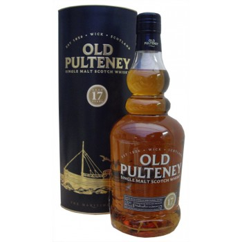 Old Pulteney 17 Year Old Single Malt Whisky