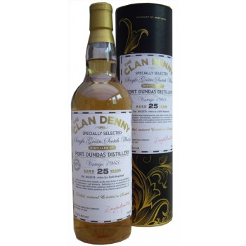 Port Dundas 1988 25 year Old Single Grain Whisky