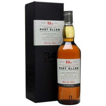 Port Ellen 1978 34 Year Old 13th Release Single Malt Whisky