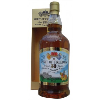 Spirit of Freedom 30 Year Old Blended Scotch Whisky