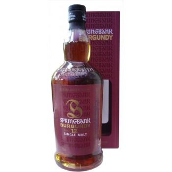 Springbank 12 Year Old Burgundy Barrel Single Mat Whisky