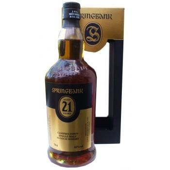 Springbank 21 Year Old 2017 Release Single Malt Whisky