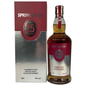Springbank 25 Year Old 2018 Release