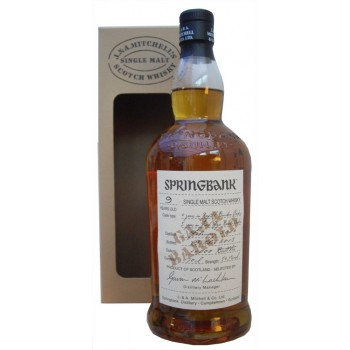 Springbank 9 Year Old Barolo Wood Expression