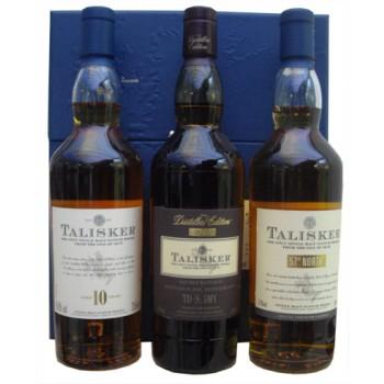 Talisker 3 x 20cl Gift Set Single Malt Whiskies