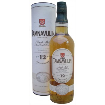 Tamnavulin 12 Year Old Single Malt Whisky