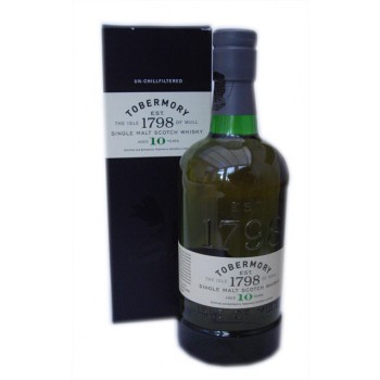 Tobermory 10 Year Old Single Malt Whisky