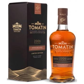 Tomatin 2006 12 Year Old Amontillado Sherry Butt Finish Single Malt Whisky