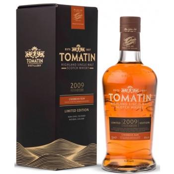 Tomatin 2009 10 Year Old Caribbean Rum Finish Single Malt Whisky