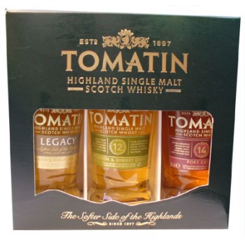 Tomatin Miniature Gift Set