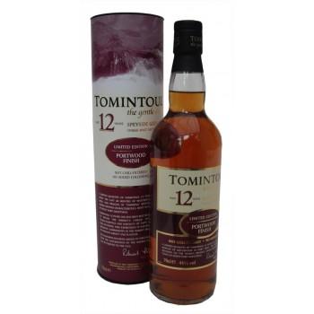 Tomintoul 12 Year Old Portwood Finish Single Malt Whisky