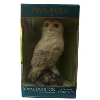 Whyte and Mackay Royal Doulton Snowy Owl 20cl Scotch Whisky