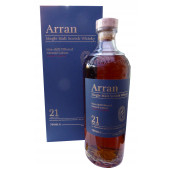 Arran 21 year Old 2020 Release Single Malt Whisky