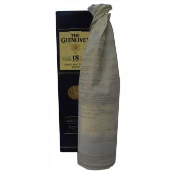 Glenlivet 18 Year Old Single Malt Whisky