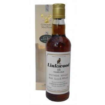 Linkwood 15 Year Old 35cl Single Malt Whisky