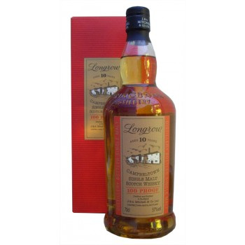 Longrow 100 Proof 10 Year Old Single Malt Whisky