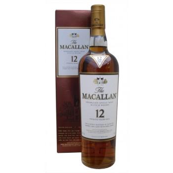 Macallan 12 Year Old Single Malt Whisky