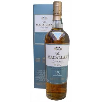 Macallan 15 Year Old Fine Oak Single Malt Whisky