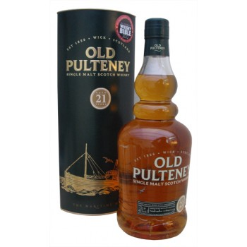 Old Pulteney 21 Year Old Single Malt Whisky