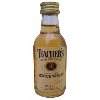 Teachers Highland Cream 5cl