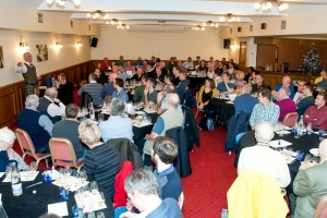 A very full house for this last whisky tasting of the year!