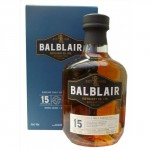 Balblair 15 year old single malt whisky