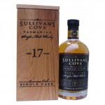 Single Cask 17 year old American Oak Sullivans Cove Single Malt Whisky